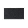Udstillingstæppe i meleret sort. Tæppe af høj kvalitet. Køb hel rulle eller på mål.