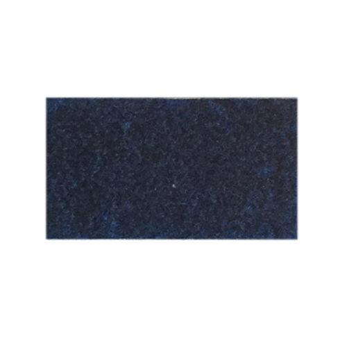 Udstillingstæppe i marineblå. Tæppe af høj kvalitet. Køb hel rulle eller på mål.