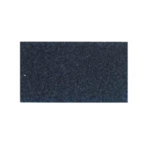 Udstillingstæppe i mørkeblå. Tæppe af høj kvalitet. Køb hel rulle eller på mål.