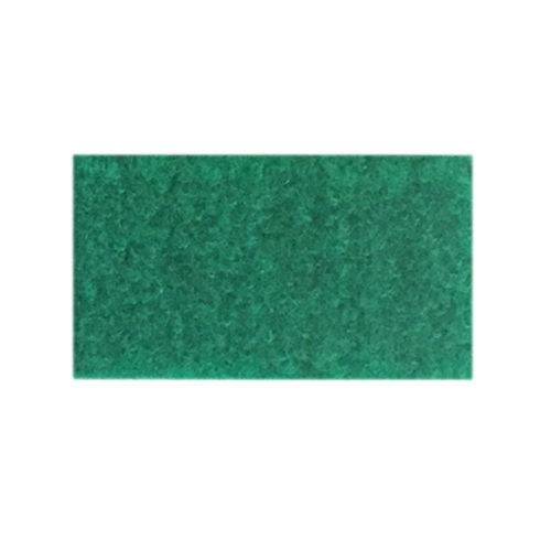 Udstillingstæppe i mellem grøn. Tæppe af høj kvalitet. Køb hel rulle eller på mål.