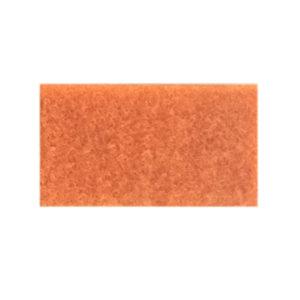 Udstillingstæppe i orange. Tæppe af høj kvalitet. Køb hel rulle eller på mål.