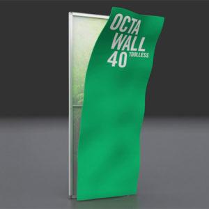 Octawall klassisk display udskiftning af grafik tryk.