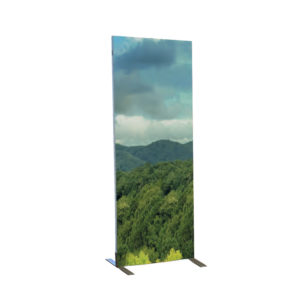Octawall 40 mm tyk fritstående klassisk display. 248x99 cm.