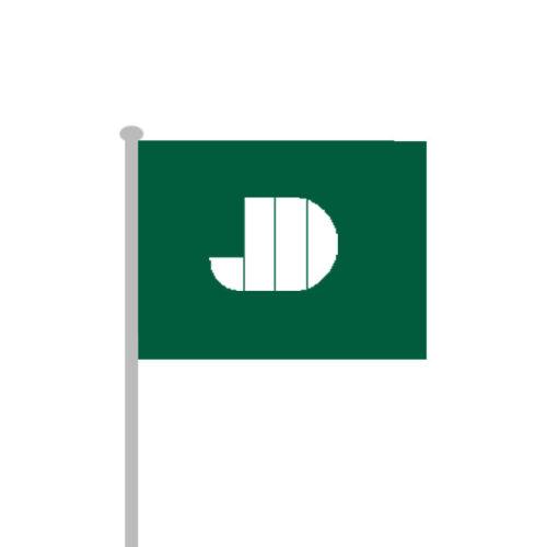 Flag til 6 meter flagstang. Alt til butikken. Alttilbutikken.dk. Alttilbutikken.