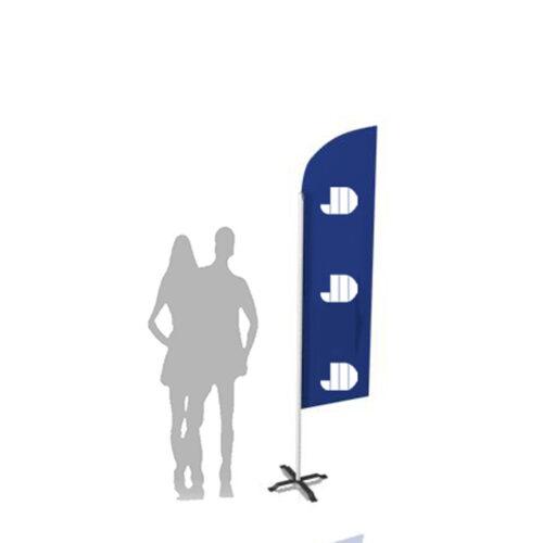 Bowhead beachflag small. Alt til butikken. Alttilbutikken.dk. Alttilbutikken