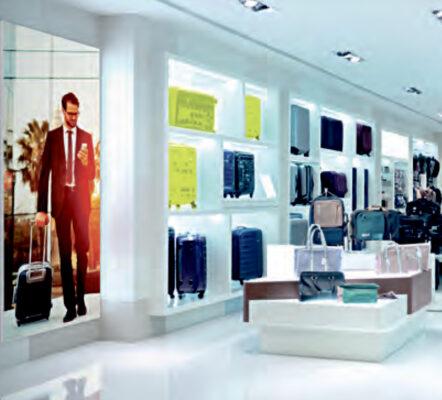 Octalumina LED-display med indvendig belysning. Alttilbutikken.dk. Alttilbutikken. Alt til butikken.