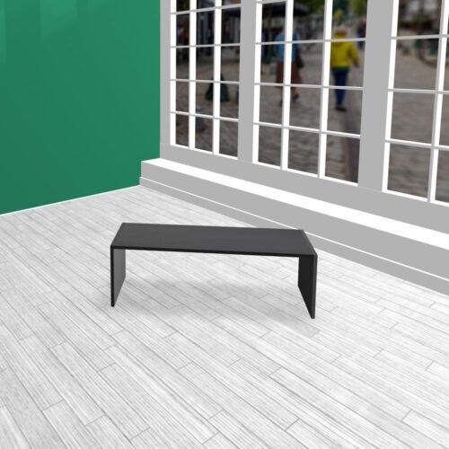 Produktbord i HØJDE 40 cm sort