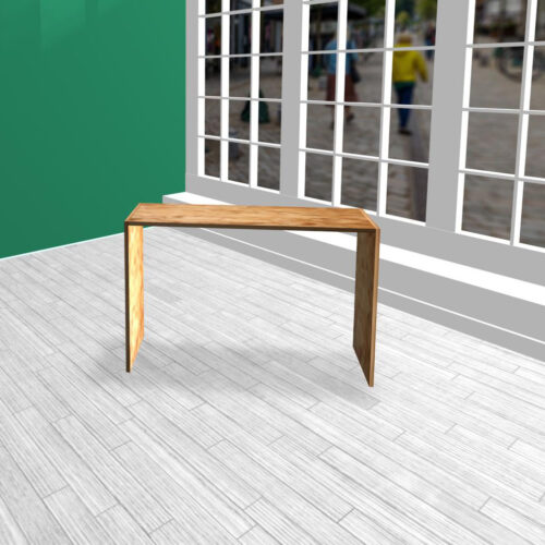 Produktbord i HØJDE 80 cm OSB