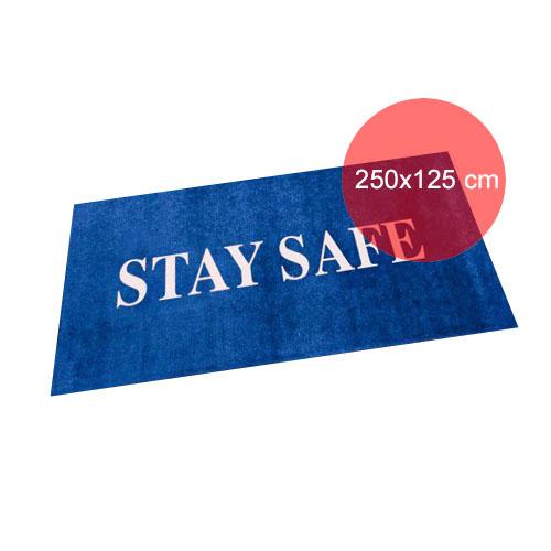 Design dit eget tæppe i standardstørrelse 250x125 cm