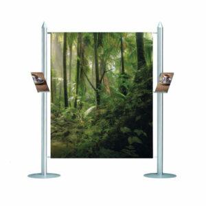 Banner display d2 banner center 1660 x 2010 mm