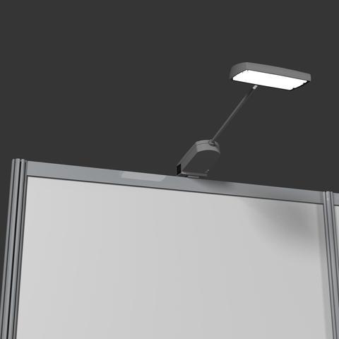 Led Spotlight lampe. Kan sættes i serie.